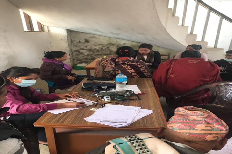 Free Health Camp in Gulmi