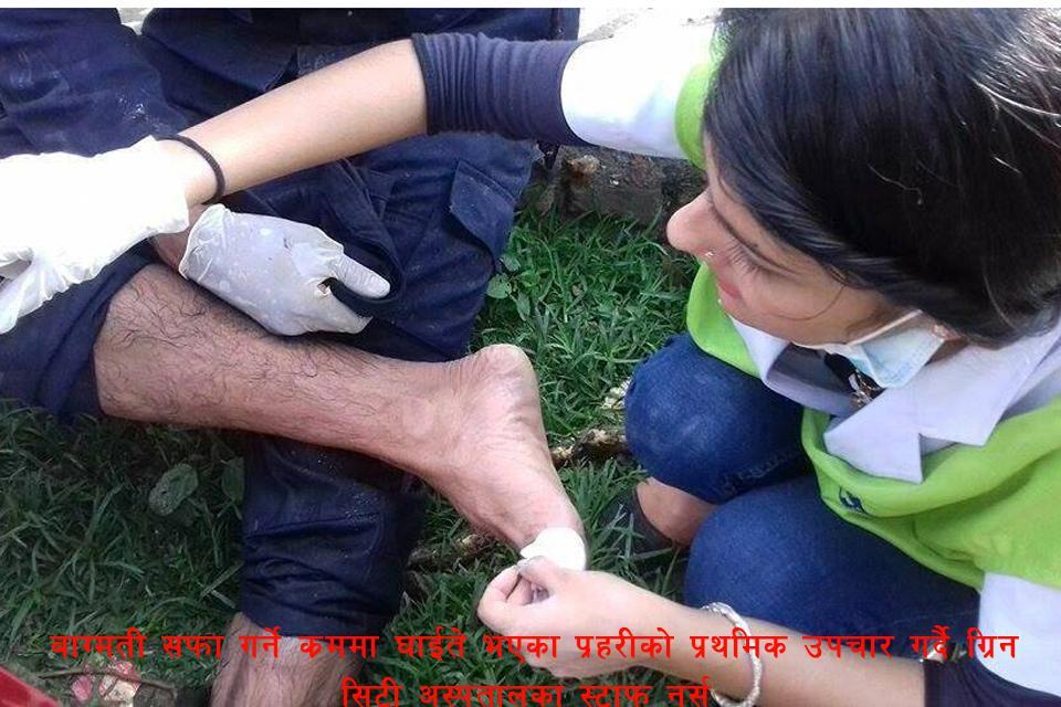 Bagmati cleaning