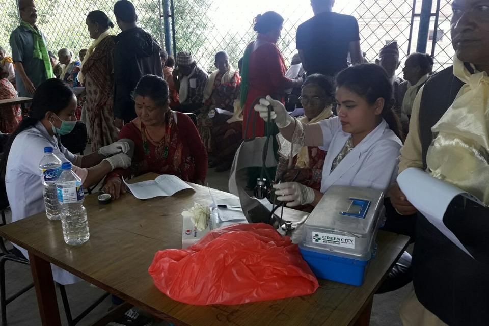 Free Health camp in sangla