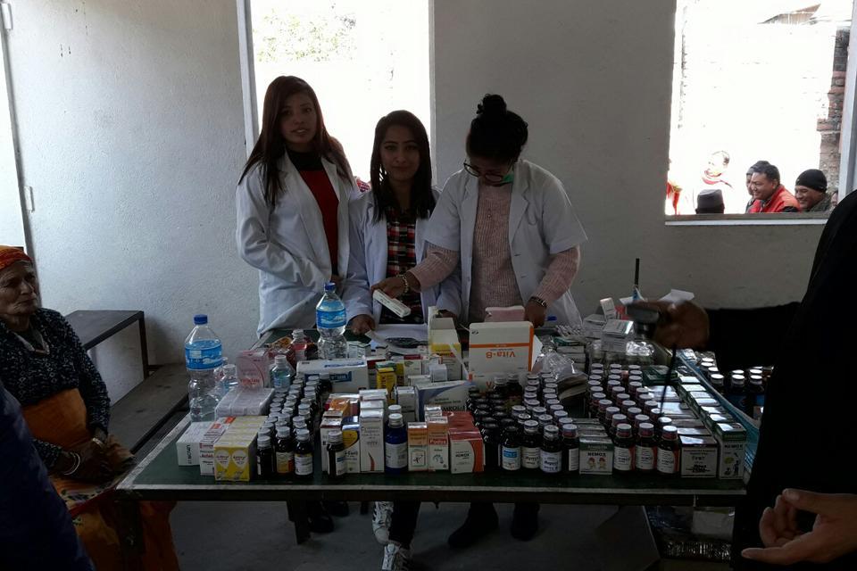 Free Health camp in Sankhu