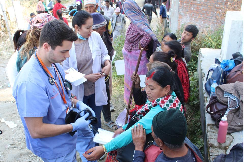 Free Health camp on sangla(Tarkeshwor-3)
