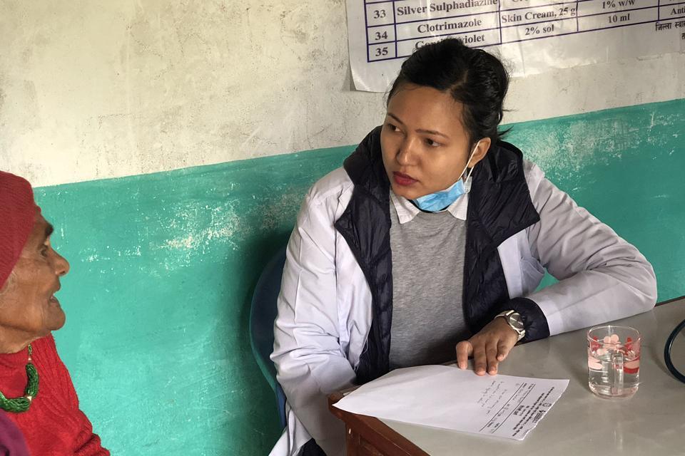 Free health camp in Tanahu