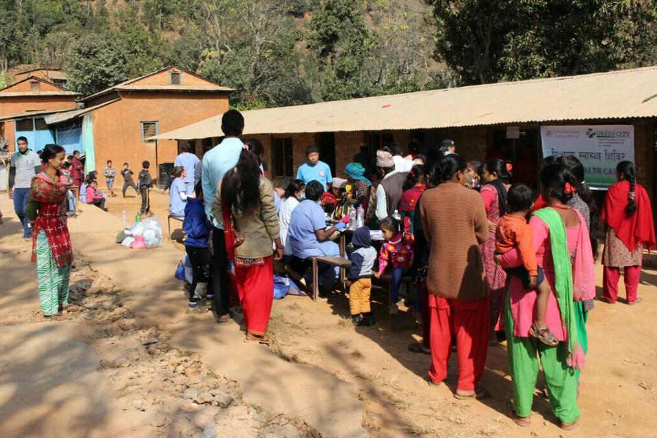 Free Health Camp in Nuwakot