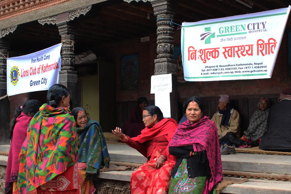 Free Health Camp on Lalitpur, Patan