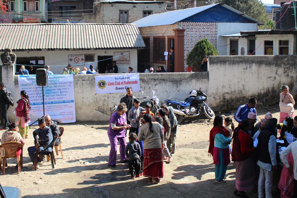 Free Health Camp in Tokha