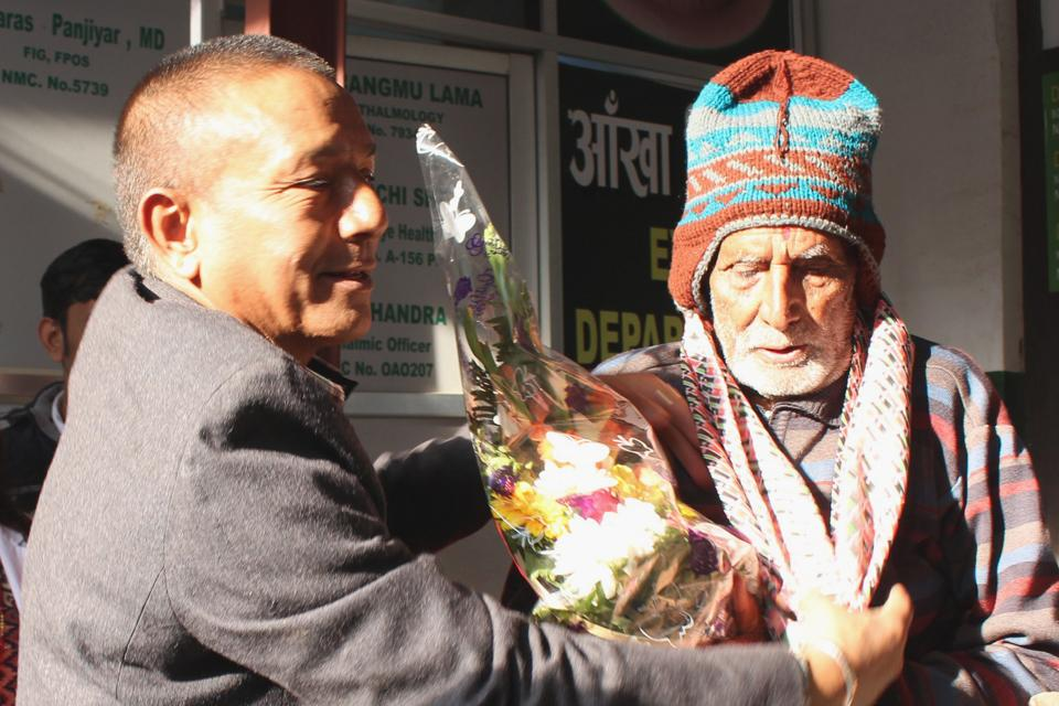 102 Years Old man form Dhading .