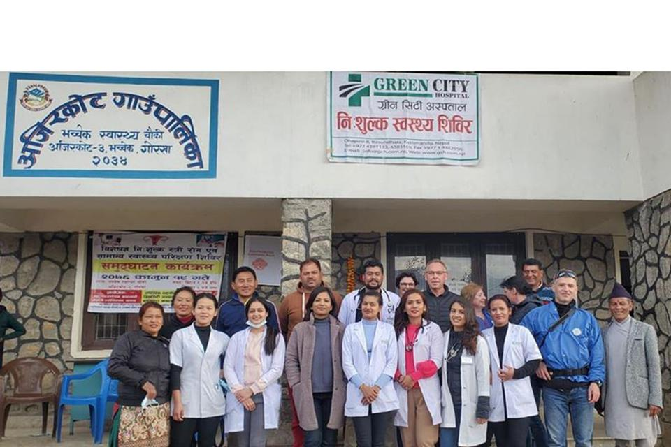 Free Health Camp in Syangja,Gorkha