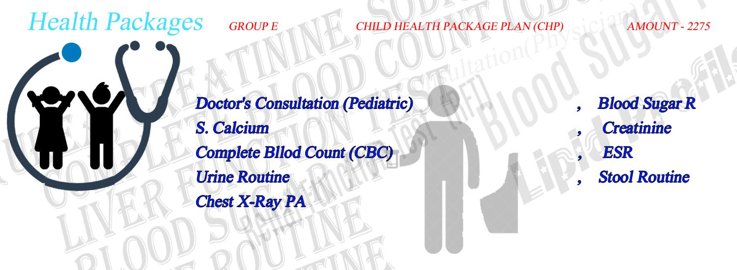 Health Package Group E