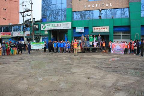 Ringroad cleaning campaign